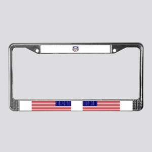 heroes wear License Plate Frame