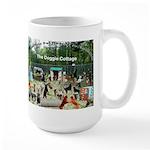 Doggie Cottage Large Mug
