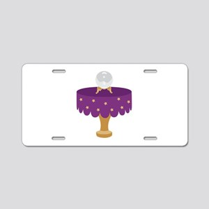 Crystal Ball Aluminum License Plate