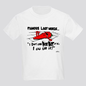 Famous Last Words Kids Light T-Shirt
