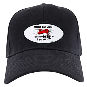 f97e1352bb6 Food Drink Black Cap With Patch - CafePress