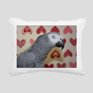 Valentine's Day African  Rectangular Canvas Pillow