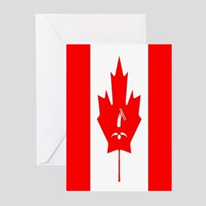 Team Freestyle Canada Greeting Cards (Pk of 10)