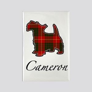 Clan Cameron Scotty Dog Rectangle Magnet