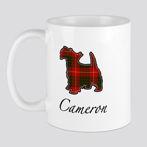 Clan Cameron Scotty Dog Mug