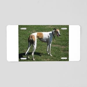 greyhound full Aluminum License Plate