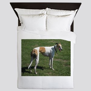 greyhound full Queen Duvet