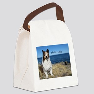 Shetlties Only Canvas Lunch Bag