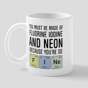 Chemsitry F I Ne (Fine) Mug