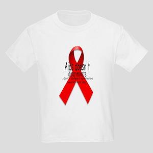 Aids Doesn't discriminate Kids Light T-Shirt