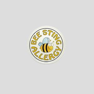 BEE STING ALLERGY Mini Button