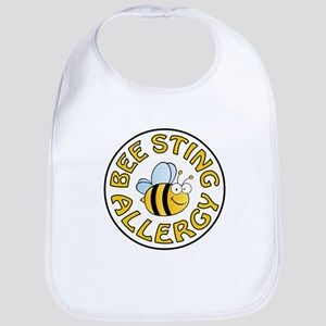 BEE STING ALLERGY Bib