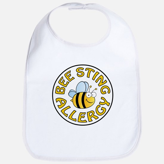BEE STING ALLERGY Bib