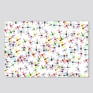 Dragonflies pattern Postcards (Package of 8)