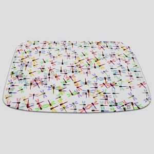 Dragonflies pattern Bathmat
