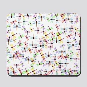 Dragonflies pattern Mousepad