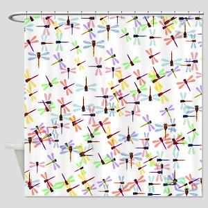 Dragonflies pattern Shower Curtain