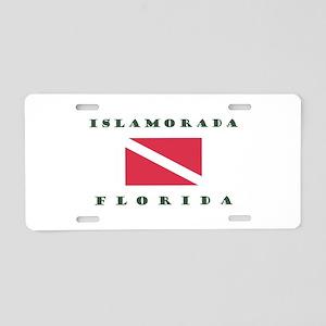 Islamorada Florida Aluminum Aluminum License Plate