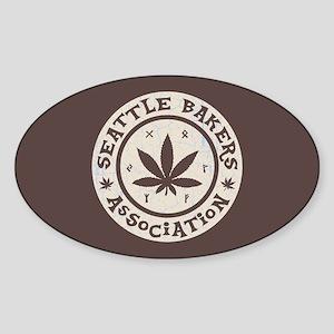 Seattle Bakers Sticker (Oval)