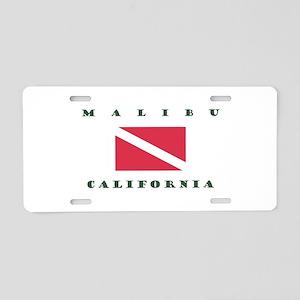 Malibu California Aluminum Aluminum License Plate