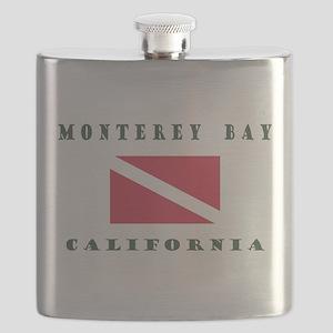 Monterey Bay California Flask