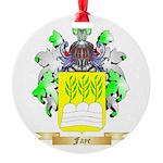Faye Round Ornament