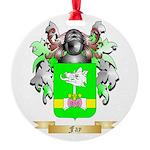 Fay Round Ornament