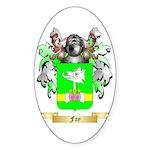 Fay Sticker (Oval 50 pk)