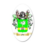Fay 35x21 Oval Wall Decal