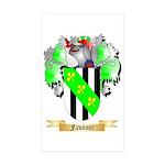 Fawkner Sticker (Rectangle 10 pk)