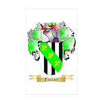 Fawkner Sticker (Rectangle 50 pk)