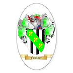 Fawkner Sticker (Oval 50 pk)