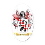 Fawcett Oval Car Magnet