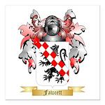 Fawcett Square Car Magnet 3
