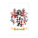 Fawcett Sticker (Rectangle)