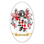 Fawcett Sticker (Oval)
