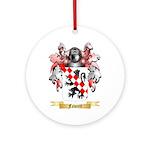 Fawcett Ornament (Round)