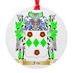 Faw Round Ornament