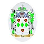 Faw Ornament (Oval)