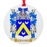 Favron Round Ornament