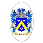 Favroa Sticker (Oval 10 pk)