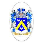 Favroa Sticker (Oval 50 pk)