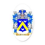 Favretti Oval Car Magnet