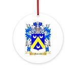 Favretti Ornament (Round)