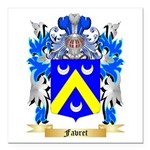 Favret Square Car Magnet 3