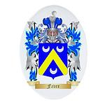 Favre Ornament (Oval)