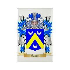 Faveri Rectangle Magnet (100 pack)