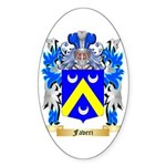 Faveri Sticker (Oval 50 pk)