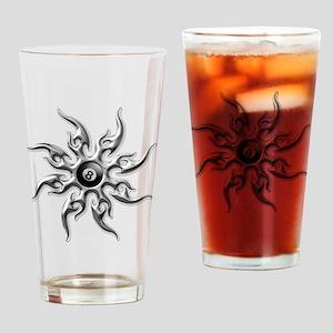 Eightball Drinking Glass