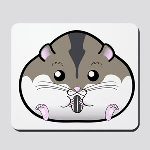 Fat Russian Dwarf Hamster Mousepad